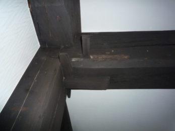 金物を使わずに組み上げ、家の骨組を作る「木組み」。日本の伝統的な構法です。