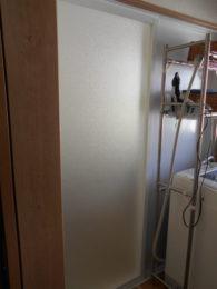 お風呂は引き戸へ替えました。出入りがスムーズになりました。