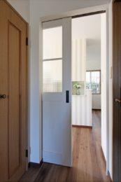 廊下からキッチンに入る瞬間からワクワクします