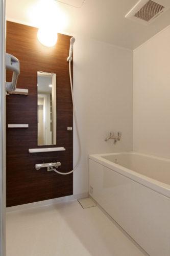浴室も広くて快適になりました