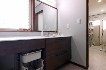 家事や身支度を快適にこなせるゆとりある空間