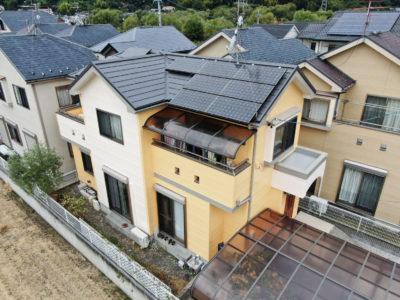 外壁塗装・屋根重ね葺き・ベランダ防水工事